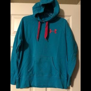 Under Armour Storm Turquoise Hoodie